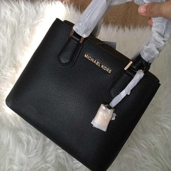 df2437592c4e Michael Kors Adele Md Messenger Leather